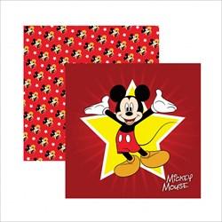 Papel para Scrap Dupla Face Disney SDFD011 Mickey Mouse Mouse Guirlanda