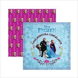 Papel para Scrap Dupla Face Disney SDFD041 Frozen Guirlanda