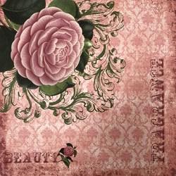 *Papel para Scrap Simples Arte Fácil SC-012 Beauty 01