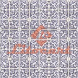 Papel para Scrapbook Litocart LSC-182 Azulejo Azul