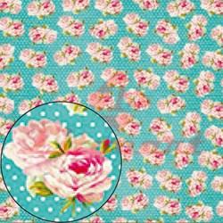 Papel para Scrapbook Litocart LSC-225 Flores