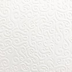 Papel Textura Branco 30x60cm PTB-18 Arabesco II