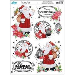 Papel Transfer Litoarte Natal PTGN-008 Papai Noel