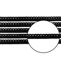 Passamanaria 10mm 7020/P - Cor 002 Preto- com 10 metros