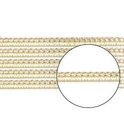Passamanaria 10mm 7020/P - Cor 12 Bege - com 10 metros