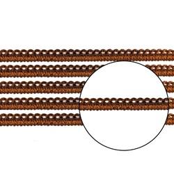 Passamanaria 10mm 7020/P - Cor 14 Marrom - com 10 metros