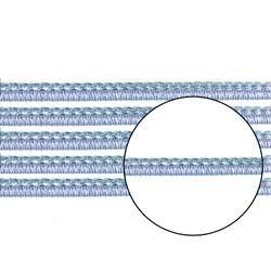 Passamanaria 10mm 7020/P - Cor 18 Azul Celeste - com 10 metros