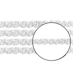 Passamanaria 10mm 7810/P - Cor 001 Branco - com 10 metros