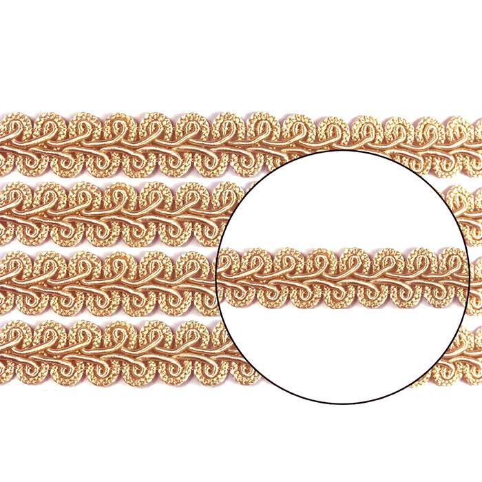 Passamanaria 13mm 7090 - Cor 10 Salmão - com 10 metros