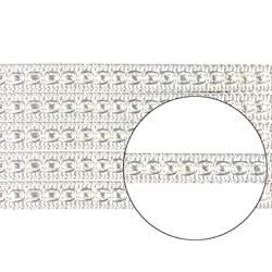 Passamanaria 9mm 7050/P - Cor 01 Branco - com 10 metros