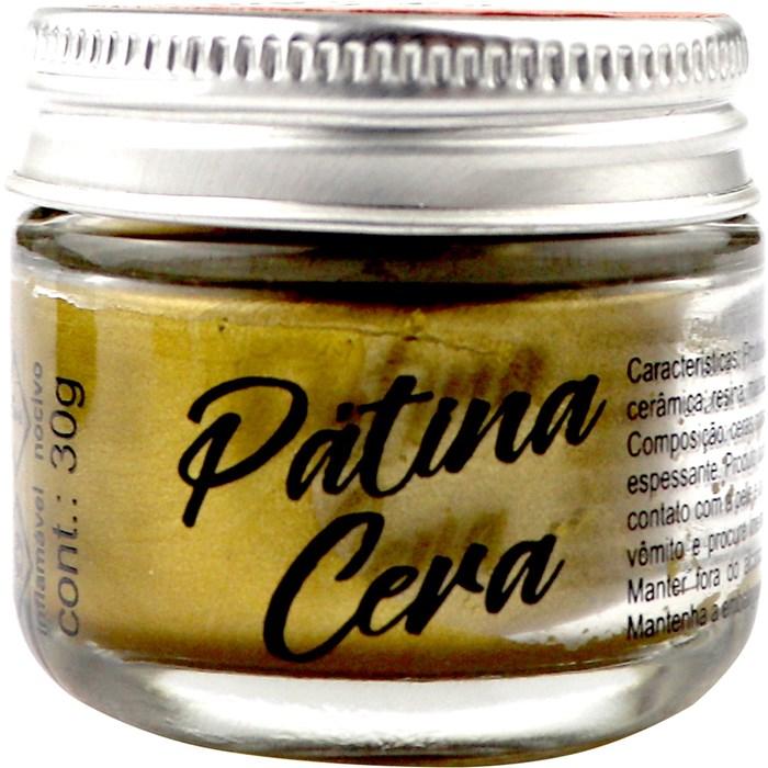Pátina Cera Metal 30g True Colors - Ouro Antigo