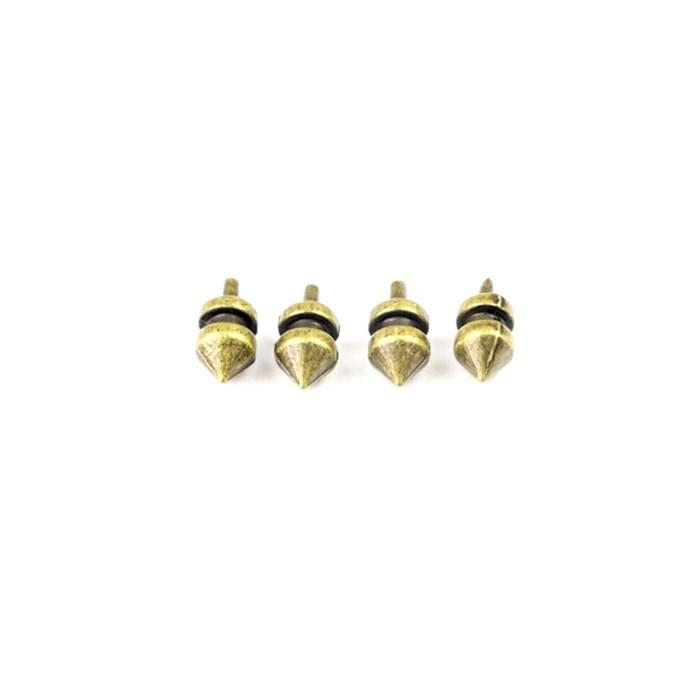Pé Baixo Lança P134-4 Ouro Velho - com 4 unidades