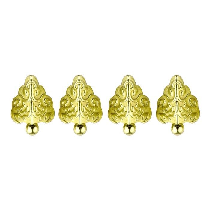 Pé Romano P DV022-2 Ouro - com 4 unidades