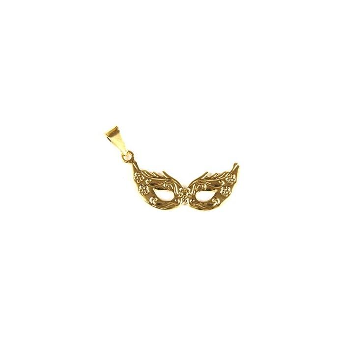 Pingente Banhado PBO-009 Máscara