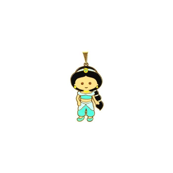 Pingente Banhado PBO-012 Princesa Jasmine