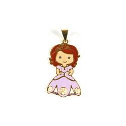 Pingente Banhado PBO-049 Princesa Sophia