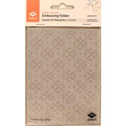 Placa para relevo Sunlit -Placa de emboss - Abstrato Flor