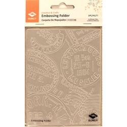 Placa para relevo Sunlit -Placa de emboss - Selos