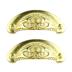 Puxador Cinturão DV036-2 Ouro - com 2 unidades