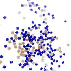 Quadrado Azul 2x2 SQ007 - 1 grama
