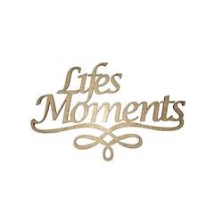 Recorte a Laser em MDF 11x7cm RM-224 Life Moments - com 1 unidade