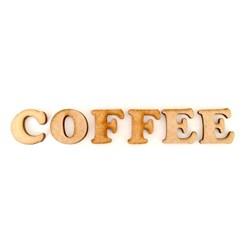 Recorte a Laser em MDF 12,5x2,5cm RM-156 Coffee- com 1 unidade