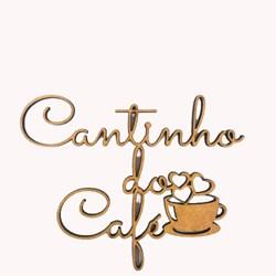 Recorte Cantinho do Café 10 Cm - MDF-127