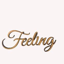 Recorte Feeling 10 Cm - MDF-128