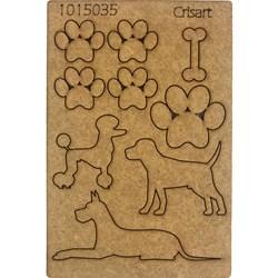 Recorte Placa Mdf 10x15 1015035 Caninos
