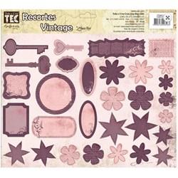 Recortes para Scrapdecor 13266 (DC07) Vintage Lilás