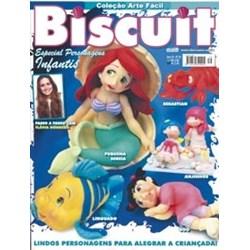 Revista Coleção Arte Fácil Biscuit Especial Personagens (Ano IV-Nº39)