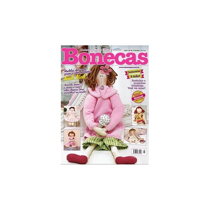 Revista Coleção Arte Fácil Bonecas (Ano I -Nº08)