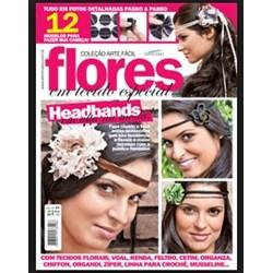 Revista Coleção Arte Fácil Flores em Tecidos (Ano I-Nº01)