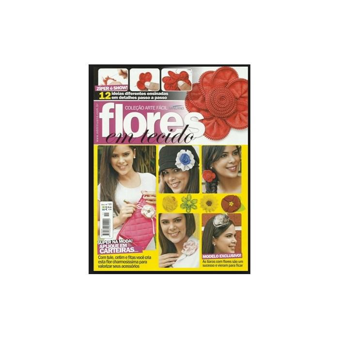 Revista Coleção Arte Fácil Flores em Tecidos (Ano I-Nº11)