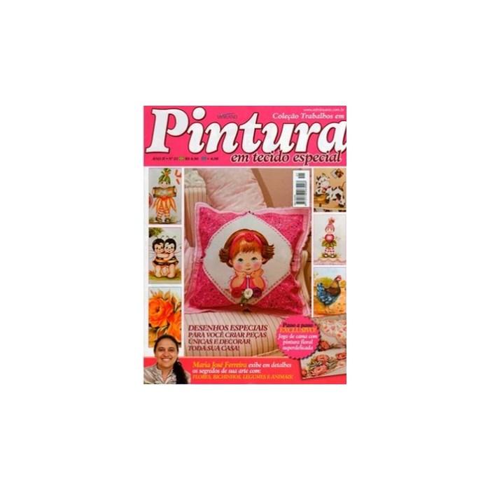 Revista Coleção Trabalhos em Pintura em Tecido Especial (Ano II-N°21)