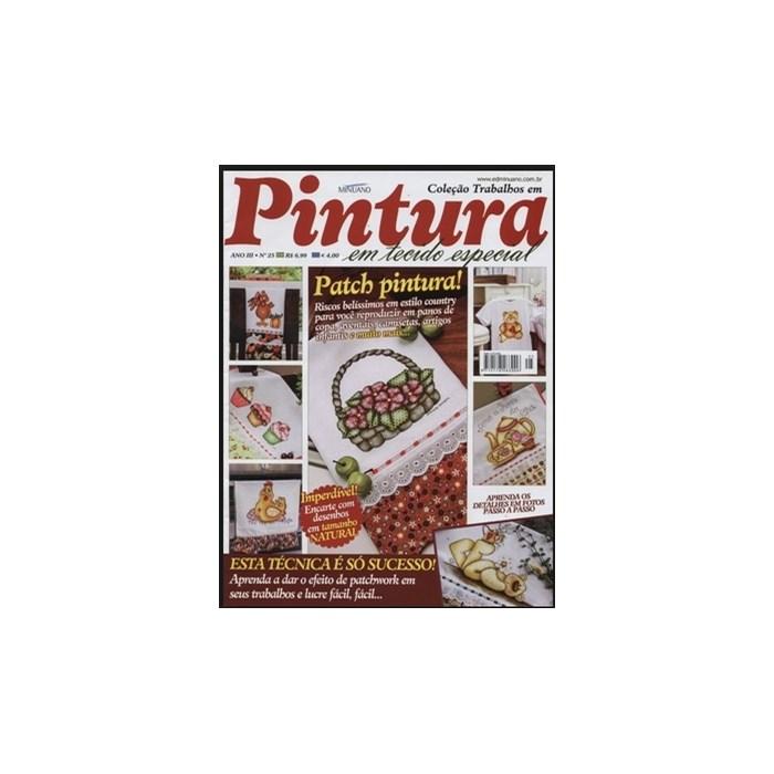 Revista Coleção Trabalhos em Pintura em Tecidos Especial (Ano II-N°25)