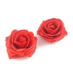 Rosa de EVA G RE01 Vermelha - com 2 unidades