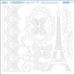 Scrap Embelezador Torre Eiffel SEM-006