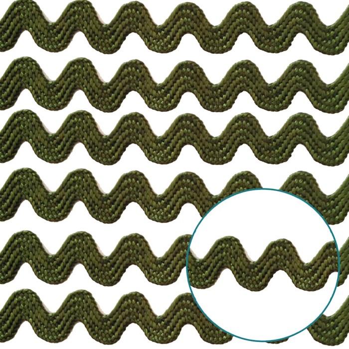 Sianinha 5mm 222/01 - Cor 32 Verde Militar - com 10 metros