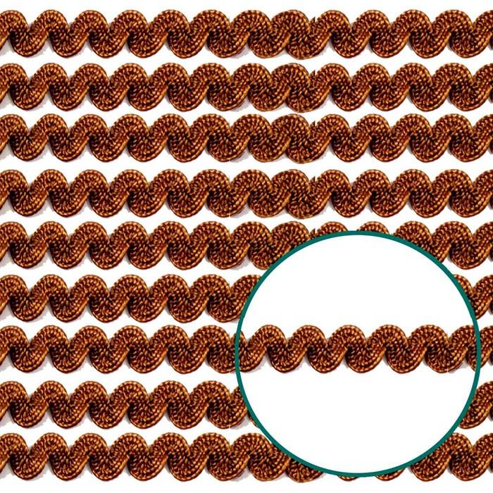 Sianinha Elástica 4mm 222/06 - Cor 14 Marrom - com 10 metros