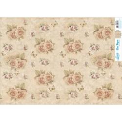 Slim Paper para Decoupage SPL-016 Rosas e Cartas Vintage