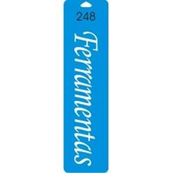 Stencil Duna 25x6,5cm DN-248 Ferramentas