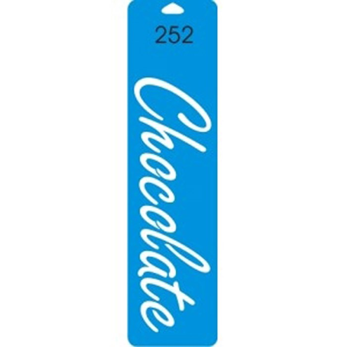 Stencil Duna 25x6,5cm DN-252 Chocolate
