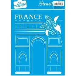 Stencil Litoarte 17x21cm STM-232 France
