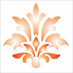 Stencil OPA 10 x 10 Simples 1 Chapa (OPA137) Arabesco ll