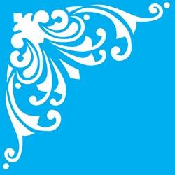 Stencil OPA 10 x 10 Simples 1 Chapa (OPA145) Cantoneira Ornamento