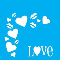 Stencil OPA 10 x 10 Simples 1 Chapa (OPA501) Cantoneira Love