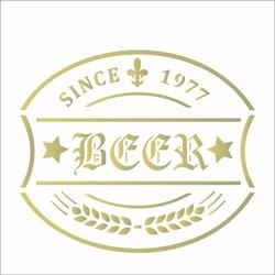 Stencil OPA 10x10 Simples 1 Chapa (OPA1983) Rótulo Cerveja