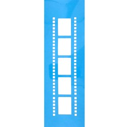 Stencil OPA 10x30 Simple 1 Chapa (OPA023) Filme