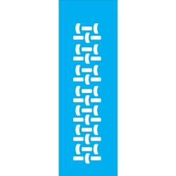 Stencil OPA 10x30 Simples 1 Chapa (OPA009) Cesto Palha
